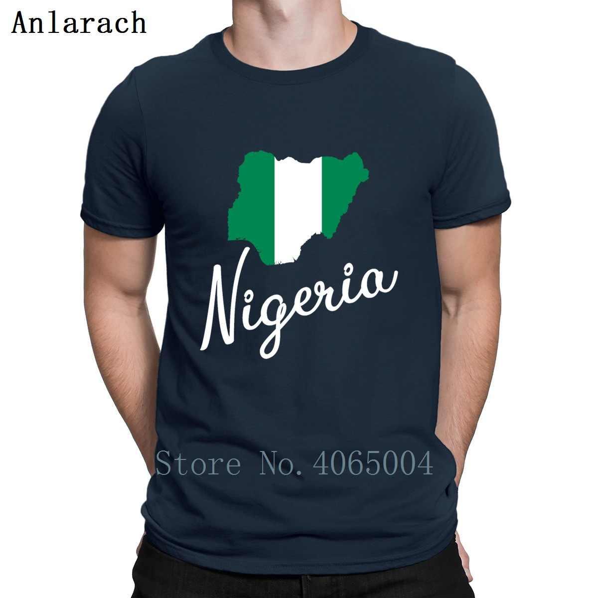 ניגריה אפריקה מפת המדינה גבולות Abuja רטרו T חולצה חדש אופנה קיץ סגנון מגמת S-3xl קצר שרוול מעצב בגדי חולצה