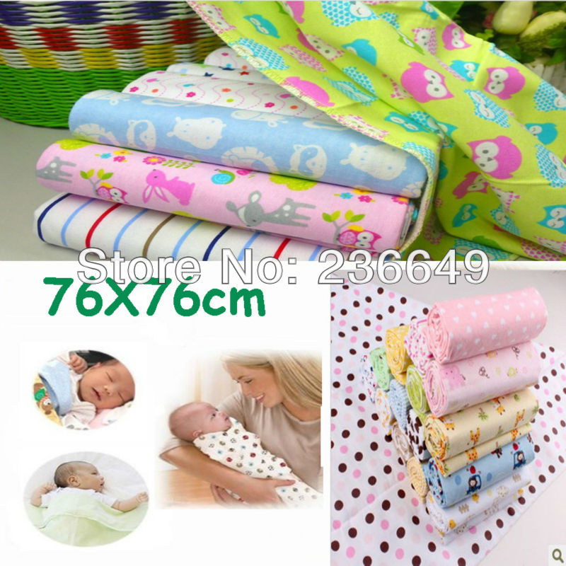 2018 New wrap baby products 2pcs lot cotton flannel baby blankets  flannel  blankets Receiving Blankets 663898a7d