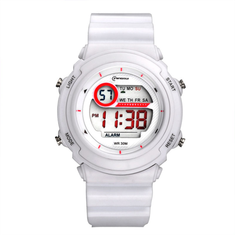 Watch Girl Alarm-Clock Electronic Waterproof Children's Student New with Multi-Function