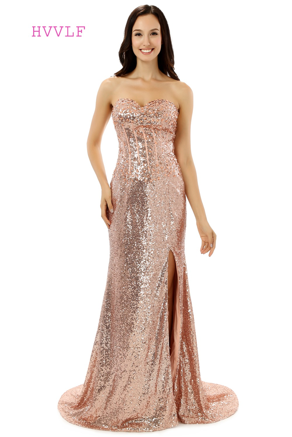 Online get cheap maternity evening gowns aliexpress alibaba sparkle evening dresses 2017 mermaid sweetheart sequins crytals slit sexy women maternity long evening gown prom dress prom gown ombrellifo Gallery