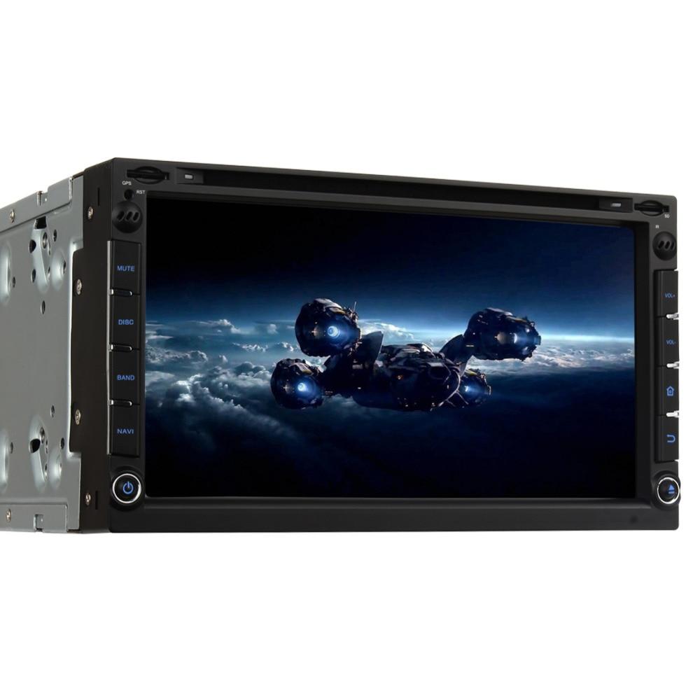 Pumpkin 2 Din Android 5 1 Universal Car DVD Player GPS Navigation Subwoofer Car Radio FM