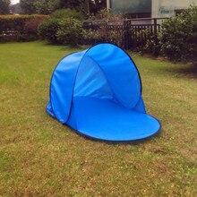 цена на Foldable Sun Shelter Tent Summer Outdoor UV Tarp Sun Shade Camping Portable Pop Up Awning Sunshade Fishing Beach Tents Canopy
