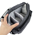 High quality Multi-functional Canvas Digital SLR Camera Bag Video Photo Bags For Nikon Canon outdoor shoulder DSLR bag 3 colors