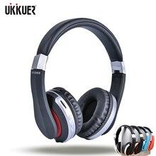 Auriculares inalámbricos con Bluetooth, auriculares estéreo plegables para videojuegos con micrófono, soporte para tarjeta TF para IPad y teléfono móvil