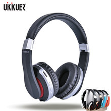 Wireless Headphones Bluetooth Headset Foldable Stereo Gaming Earphones With Microphone Support TF Card For IPad Mobile Phone(China)