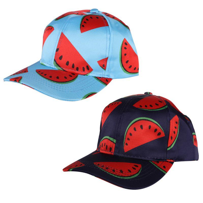8b6f3bb3fe2 New Summer Watermelon Printed Baseball Caps Unisex Women Men Hip Hop Hat  Snapback Baseball Caps-in Baseball Caps from Apparel Accessories on  Aliexpress.com ...