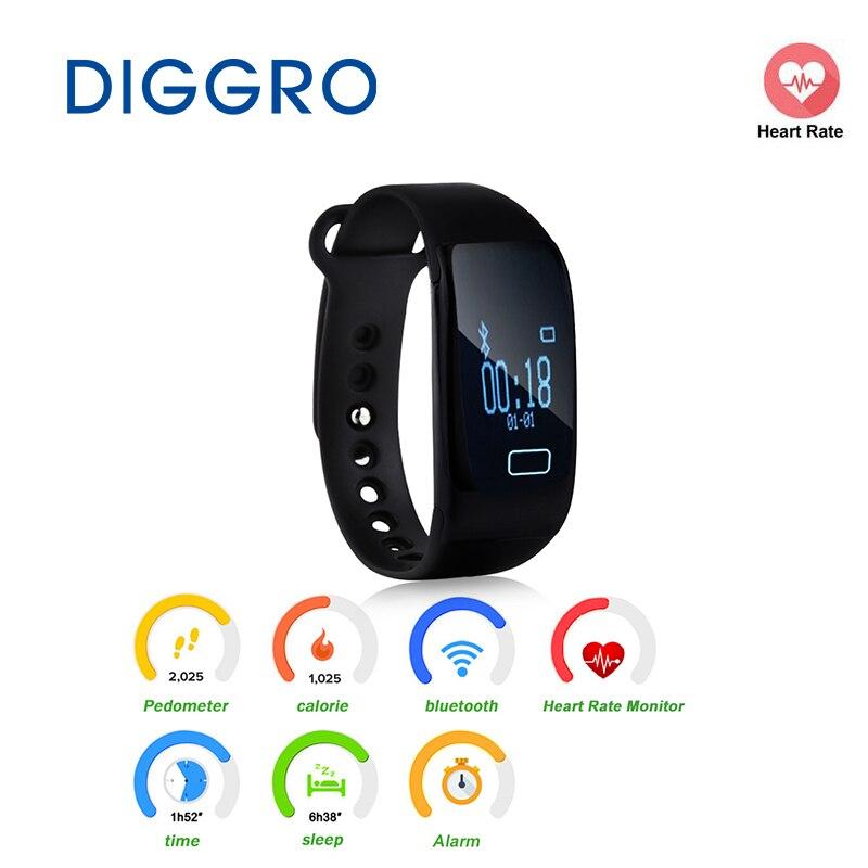 K18 Fitness Smartband Pedometer Heart Rate Smart Bracelet Calorie Sleep Monitor Call Sedentary Reminder Bluetooth 4