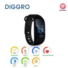 K18 фитнес SmartBand шагомер сердечного ритма умный Браслет Калорий сна монитор вызова Сидячий напоминание Bluetooth 4.0 SmartBand