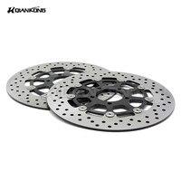 2 Pieces Motorcycle Front Brake Discs Rotor For SUZUKI GSXR1000 2000 2001 2002 2003 GSXR1300 HAYABUSA1300
