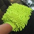 Super Mitt microfibra carro de lavagem de limpeza luvas de lavar carro