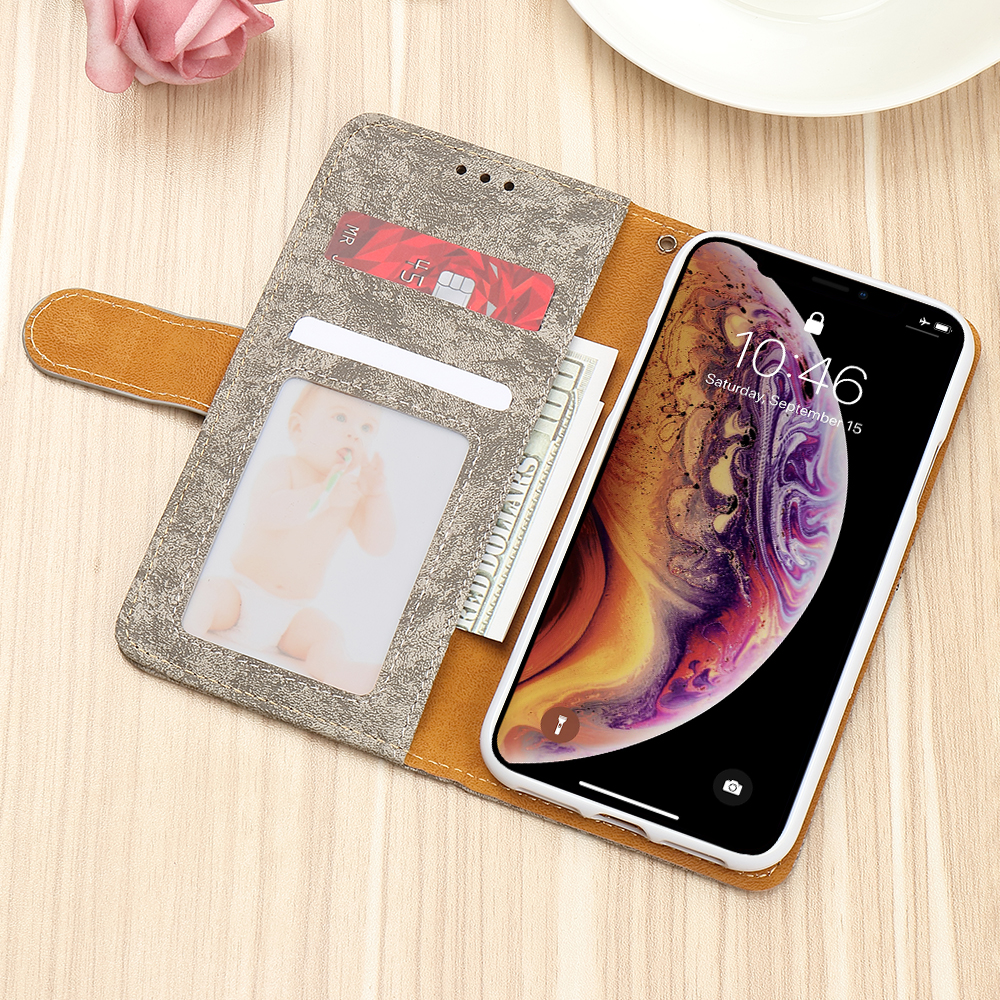 HTB1BIfOX4D1gK0jSZFKq6AJrVXag - Bling Glitter Wallet Phone Case For iPhone X Xr Xs 11 Pro Max Leather Purse For Apple 6S 6 8 7 Plus 5 5S SE 2020 360 Girls Cover