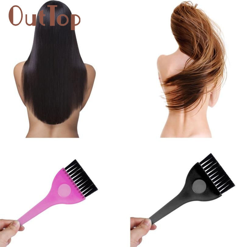 OutTop 2018 Women's Fashion Hairdressing Hair Dye Color Bowl Color Mixing Comb Brush Kit Set Tint Tools 05.04