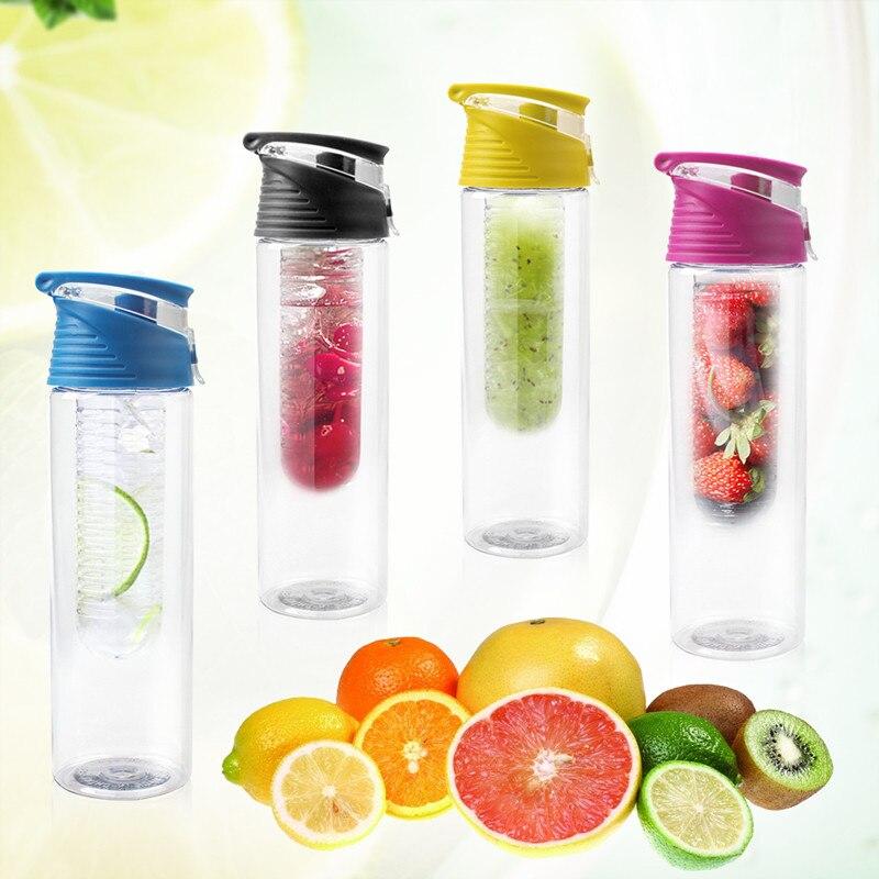 2016 Hot 800ml font b Cycling b font Sport Fruit Infusing Infuser Water Lemon Cup Juice