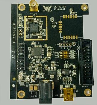 UWB ultra wideband accurate and high-precision positioning module, motherboard suite, indoor positioning, experimental research,
