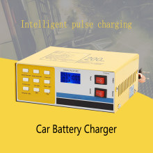 Car Battery Charger 12/24V Full Automatic 250V 200AH Smart Electric Intelligent Pulse Repair Type Automatic for Car Truck(China)