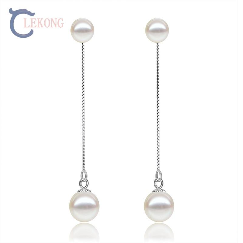 Lekong pearl drop earring 925 sterling sliver
