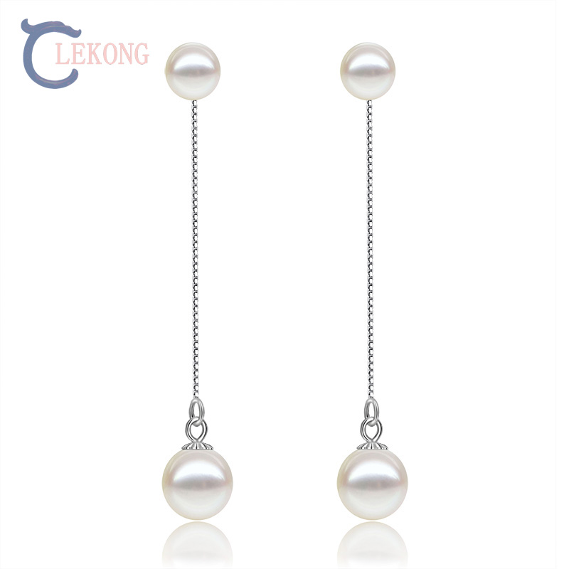 Lekong pearl drop earring 925 sterling sliver