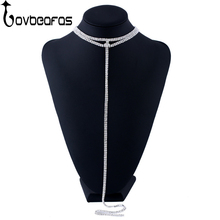 LOVBEAFAS 2018 Fashion Luxury Chokers Necklaces For Women Fine Jewelry Bijoux Collares Chocker Statement Necklace Collier Femme