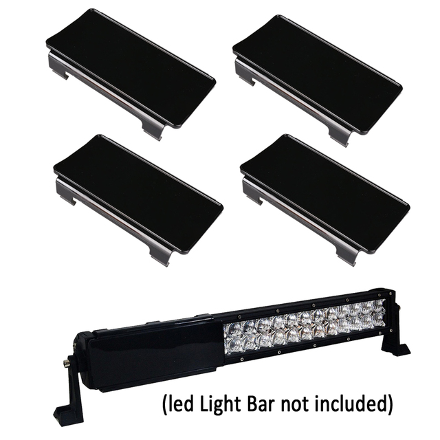 4pcs 6 inch led work light bar protective covers black amber clear 4pcs 6 inch led work light bar protective covers black amber clear red green yellow mozeypictures Image collections