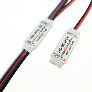 Image 3 - RGBW LED Amplifer DC5 24V 4A * 4 ช่องLED AmplifierสำหรับRGBW LED Strip Power RepeaterคอนโซลController.