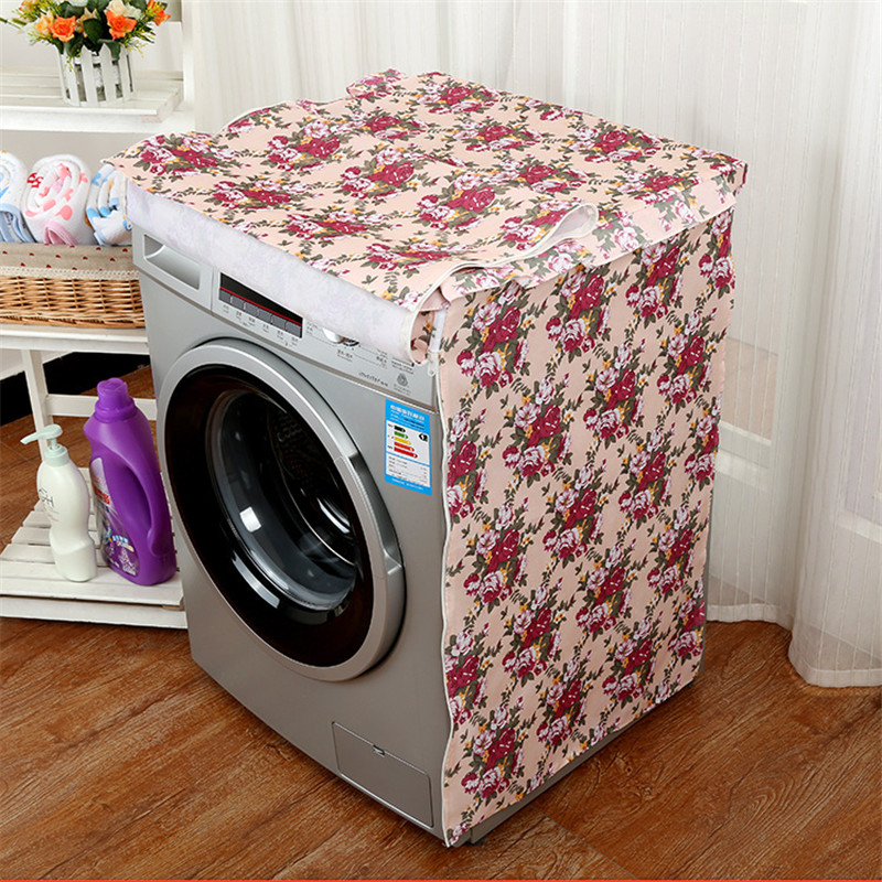 Waterproof Protective Washing Machine Dust Cover For Home