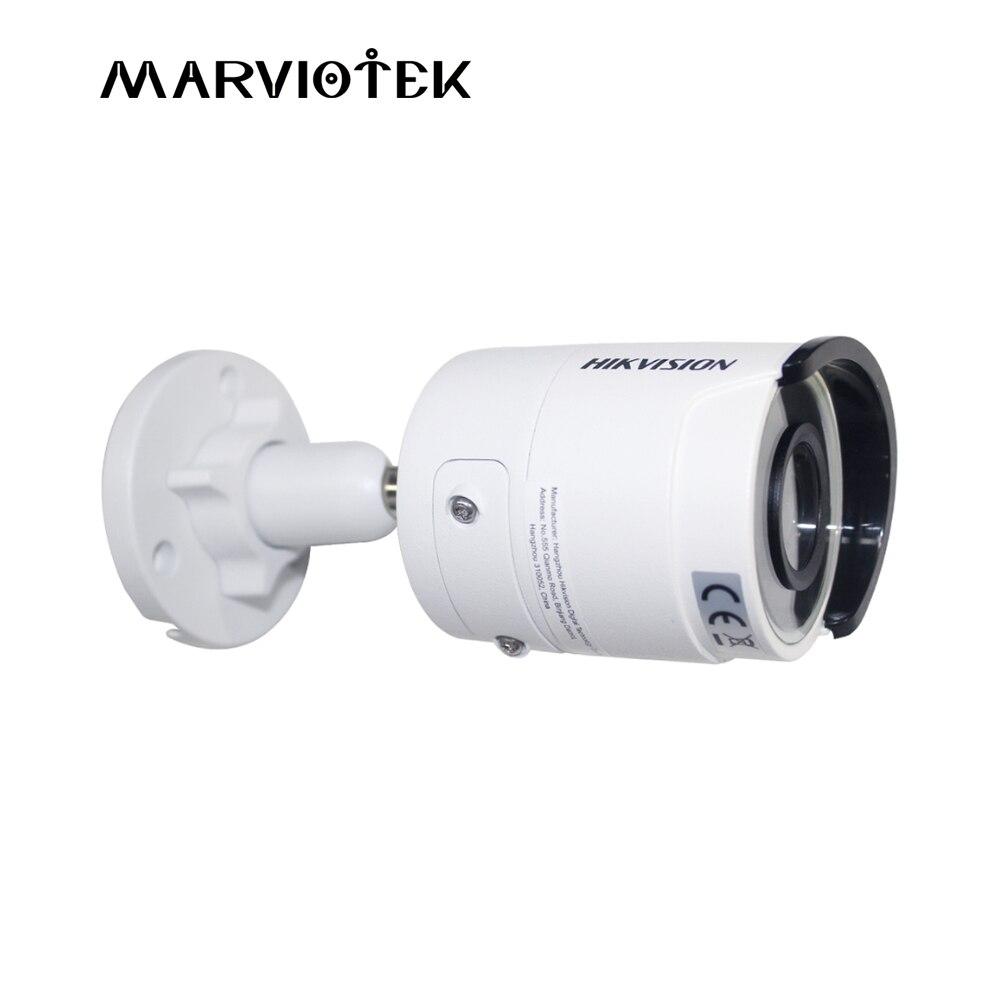 цена DS-2CD2035FWD-I hikvision ip camera poe 3mp 1080P ip cameras outdoor WDR 120DB Video Surveilance camera mini TF card slot онлайн в 2017 году