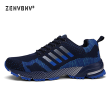 Zenvbnv Men Sports Shoes Breathable Male Unisex Light Weight Sneakers for Women Adult Athletic trainer running 35-46