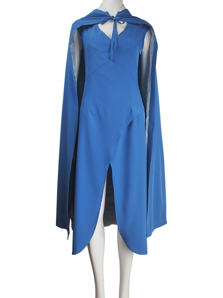 Game of Thrones princess Daenerys Targaryen blue dress X'mas birthday Valentine's Day gift prom ball dress for women girls