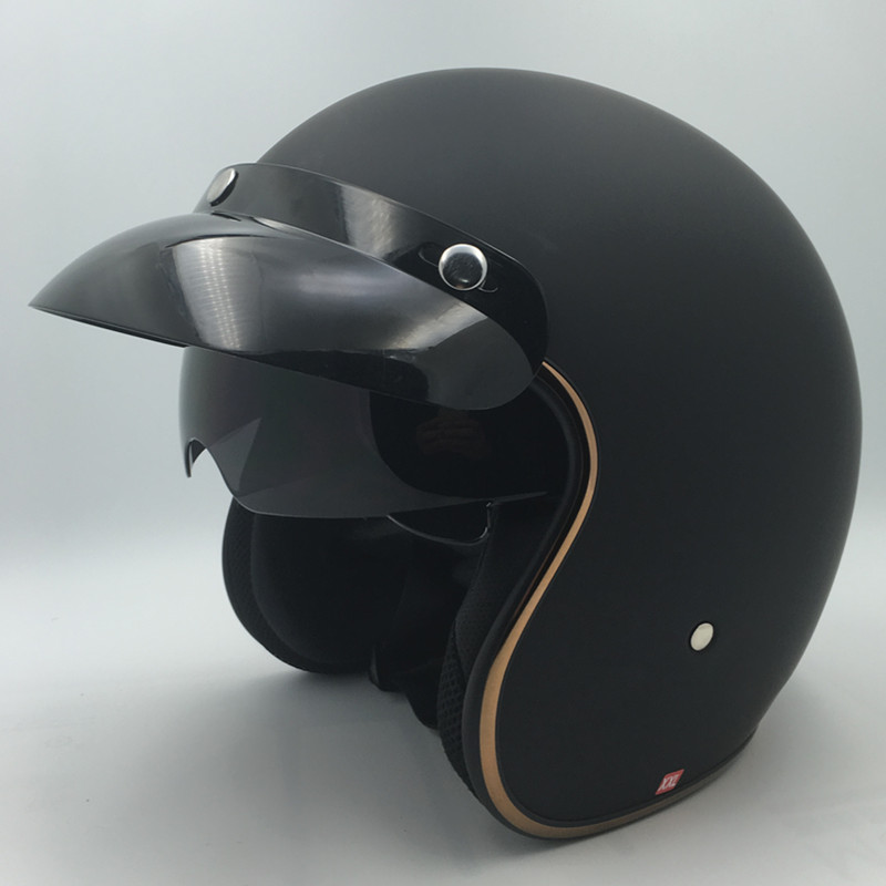 Hot sale Vcoros motorcycle helmet de motocicleta vintage jet pilot moto helmets DOT approved M L XL XXL size casco capacete moto цена