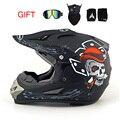 2016 professional racing motocross casque hors ruta moto casque capacete moto casco off-road de dibujos animados los niños casco de la motocicleta