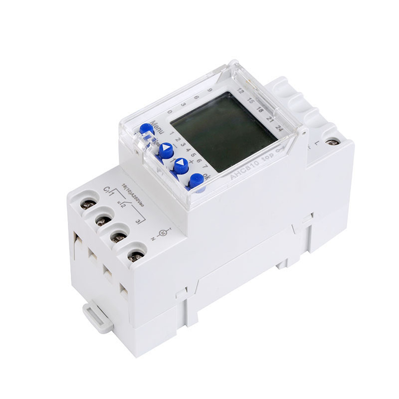 AHC810 More Programmable Timer Daylight Saving Time Latitude And Longitude Second Control Function For Indoor Lights/Kitchen 0 01 999 second 8 terminals digital timer programmable time relay