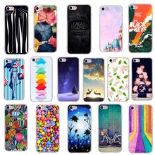 Coque for iPhone 8plus Artistic Printed colorful Stripe Bike Balloon for  iPhone X 7plus 8 7 0ad8efd90b98