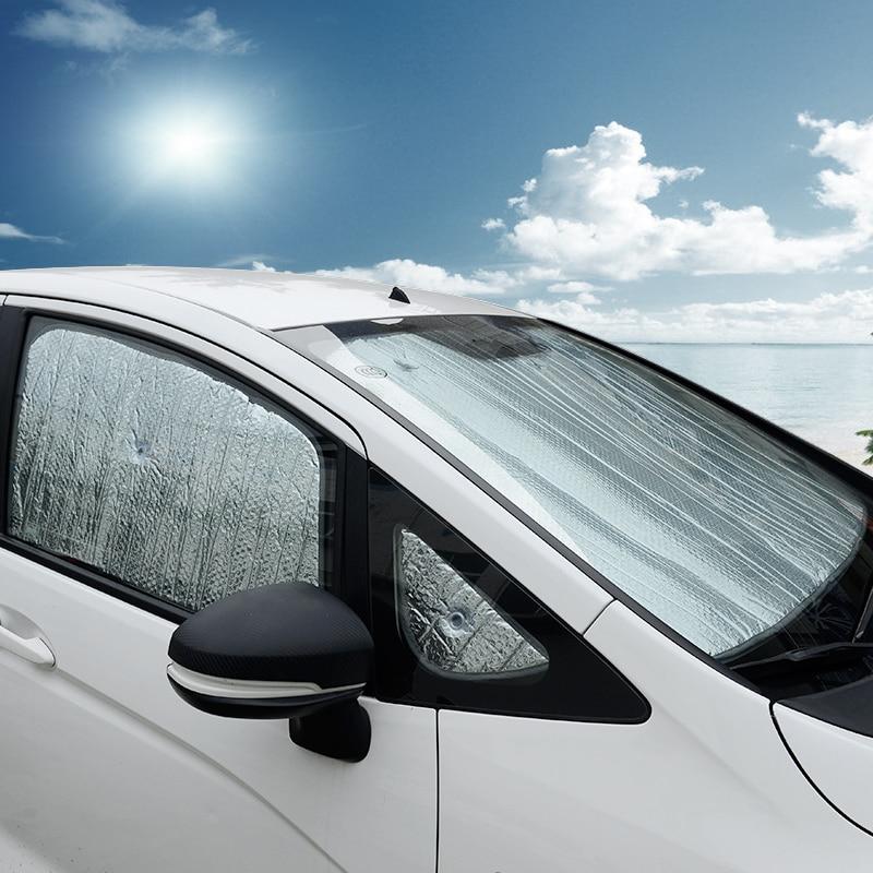 Lsrtw2017 Car Window Sun Shade For Honda Fit 2014 2015