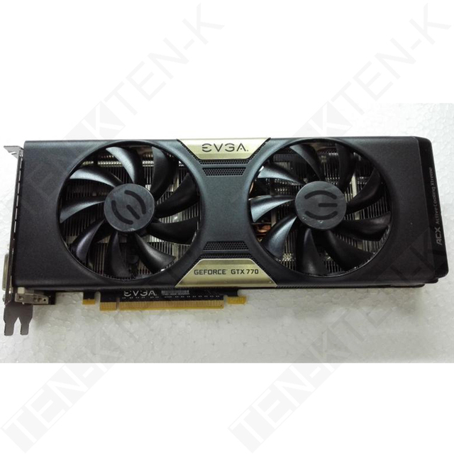 US $300 45 |USED EVGA GTX770 NVIDIA GTX 770 2GB GDDR5 1536SP  1111MHz/7012MHz 224 4GB/s BandWidth Graphics Card-in Graphics Cards from  Computer &