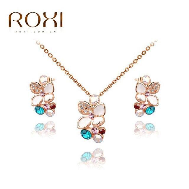 Fashion set Korean fashion jewelry wholesale rose gold colorful