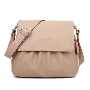 Image 2 - High Quality Genuine Leather Womens Handbags Casual Female Shoulder Bags Women Messenger Crossbody Bag Travel Bag Free Shipping
