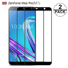 2-Pack Premium Tempered Glass Screen Protect ASUS Zenfone Max Pro M1 ZB602KL Full Cover ZenFone M2 ZB631KL ZB633KL