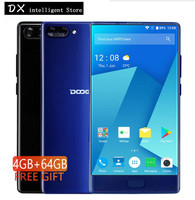 Doogee MIX 4GB 64GB Phablet LTE 5 5 HD 18 9 Helio P25 Octa Core Mobile