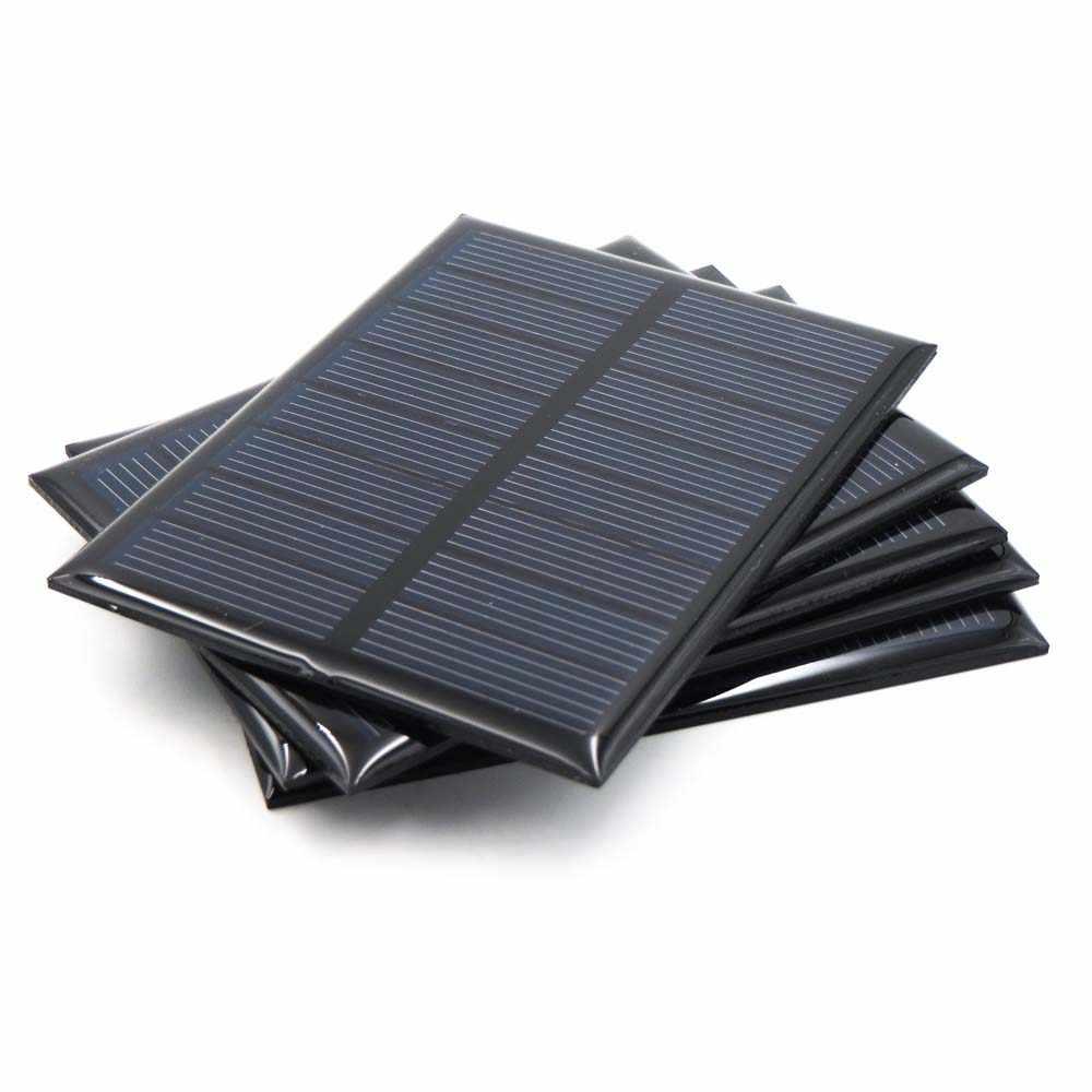 Surya 5.5V Mini Solar System Diy untuk Baterai 5V Solar Panel Charger Telepon Portabel 70mA 80mA 100mA 110mA 160mA 180mA 291mA