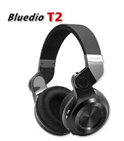 ФОТО New 100% Original Fashion Bluedio T2 Turbo Wireless Bluetooth Earphone 4.1 Stereo Noise Headset with Mic High Bass