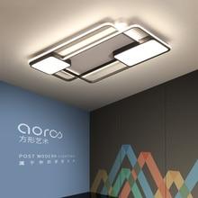 غرفة نوم غرفة المعيشة أضواء السقف الحديثة LED امب plafond avize سقف ليد حديث أضواء مصباح بريق دي plafond الحديثة