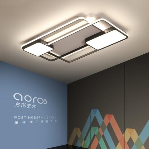 quarto sala de estar luzes teto moderno led lampe plafond avize moderno led luzes teto