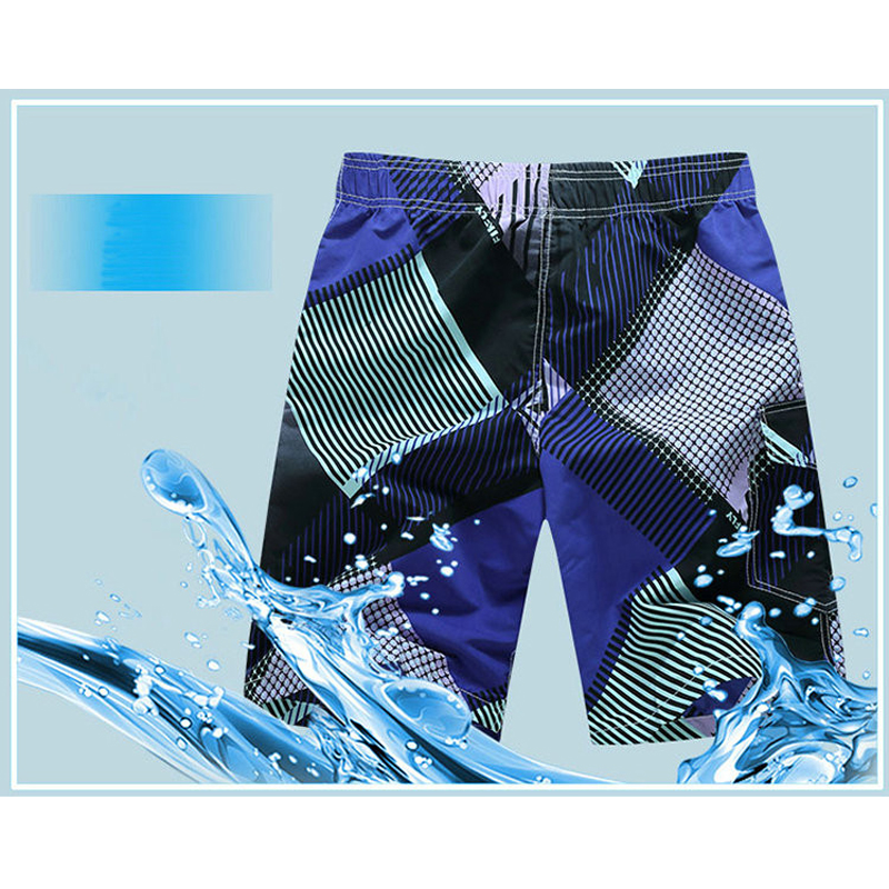 2ab6b71047 COOL Quick Dry Men Shorts Summer Men's Informal Beach Clothing Breeches  Short Trousers Running Shorts Men's Seaside Board Shorts-in Surfing & Beach  Shorts ...