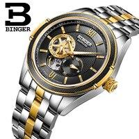 Switzerland Binger Watch Men Luxury Brand Miyota Automatic Mechanical Movement Watches Sapphire Waterproof reloj hombre B-1165-1