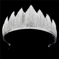 AAA Rhinestone Bride Crown for Women Bridal Tiaras and Crowns Headdress Prom Dinner Head Jewelry Wedding Accessories Trendy