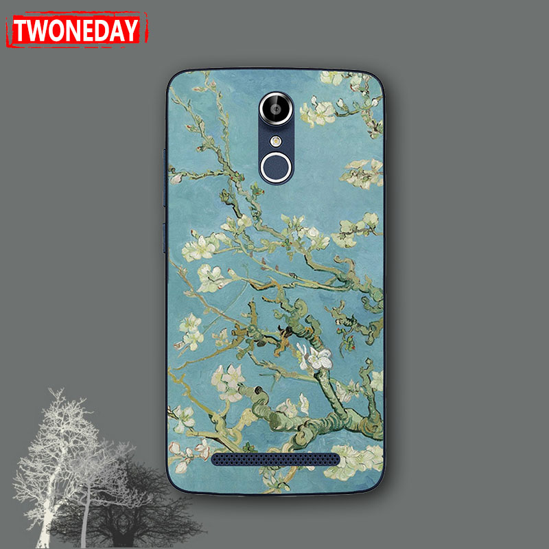 Lovely Fashion Case for HomTom HT 17 Pro 5.5 inch Flower Dog Cat Bear Soft Silicone Back Cover Case for Homtom ht17/ht17pro(China)