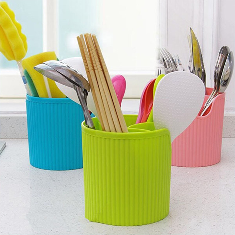 Multifunction Home Draining Rack For Cutlery Tableware Bathroom Plastic Chopstick Spoon Fork Storage Holder Kitchen Accessories