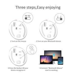 Image 4 - Delux M618 Mini Ergonomische Gaming Draadloze Muis Verticale Muis Bluetooth 2.4Ghz Oplaadbare Silent Klik Muizen Voor Kantoor