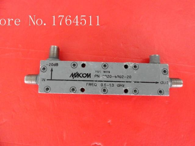 [BELLA] M/A-COM 2020-6602-20 0.5-1GHz Coup:20dB SMA Coupler