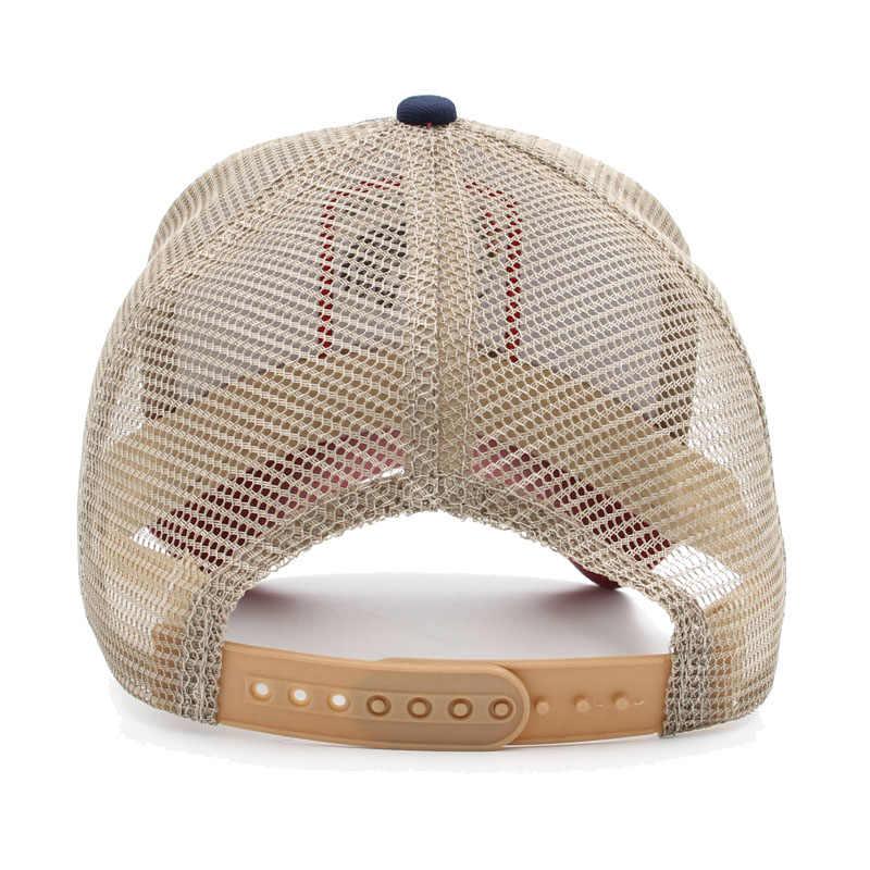 c37e483ad31f5 ... Many types embroidery animal Baseball Caps men mesh cap Snapback caps  Unisex sun hat for women ...